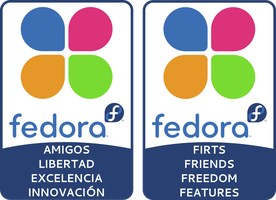 Fedora Foundation Stickers by williamjmorenor