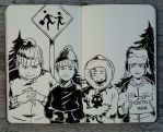 #244 South Park by 365-DaysOfDoodles