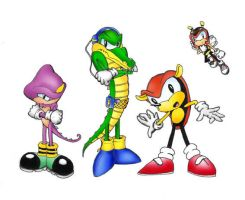 Chaotix Crew by lilanya