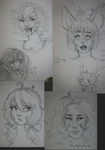 Sketchy Requests by Luminene
