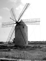 Windmill by Kaeros-Stock