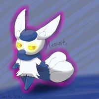 Meowstic Female by Zimerick