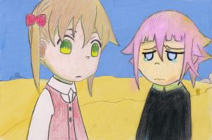 Maka_and_Crona_Benoza by Benoza