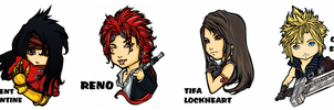 FF7AC stickers by Firnheledien