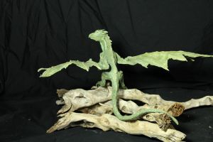 Dragon Hatchlings Resin Kit 2 view 4 Rhaegal by RavendarkCreations