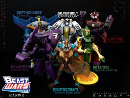 Beast Wars Animated Season 2 by Gizmo-Tracer