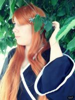 Cosplay Orihime Inoue (Shinigami version) 5 by SaFHina