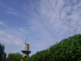 A windmill and a piece of heaven by TammuzAsmodeus
