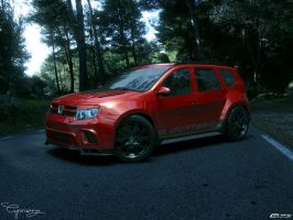 Dacia Duster Tuning 20 by cipriany