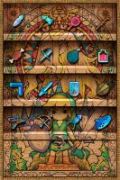 Zelda Iphone WallPaper by FischHead