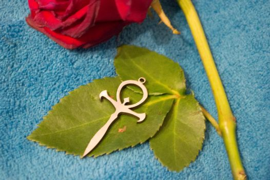 Ankh and Rose 2 by DeLucr-Stock