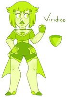 . SU Gem: Viridine by cute-salute