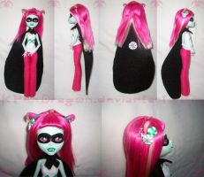 HS: Trickster!Cadiss custom doll by KPenDragon
