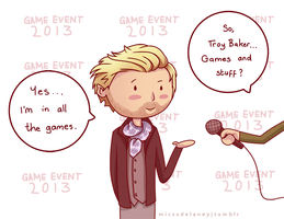 Troy Baker by missxdelaney