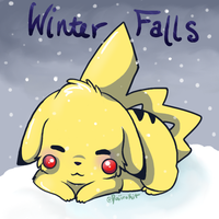 .: Winter Falls :. by pukukurin