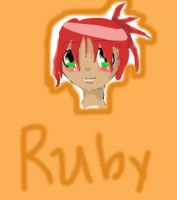 Art Trade: Ruby for Yuujin by Mehness