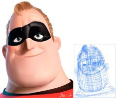 Mr incredible-Itai Lustgarten by itailu