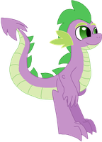 Older Spike by StarryOak