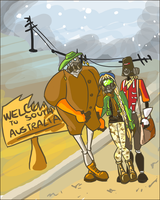 ROMAC OCs: Welcome to South Australia by eight0fhearts