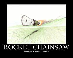 Rocket Chainsaw by UltimatheGod