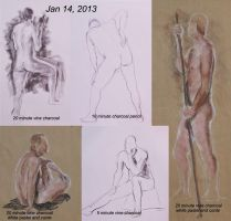 2013-01-14-Life-Drawing by mbeckett
