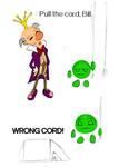 WRONG CORD! by SladeJT