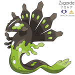#718 - Zygarde by SaintedKnight