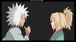 Jiraiya and Tsunade Young Fina by Sasori93