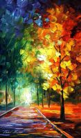 Melting beaty by Leonid Afremov by Leonidafremov