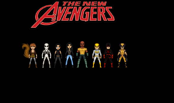 New Avengers by Jalil1m