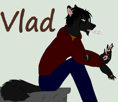 Vlad my new werewolf OC by wolvesanddogs23