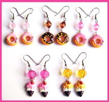 Sweet Earrings by cherryboop