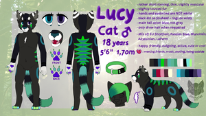 .: LUCY REFERENCE SHEET 2016 :. by AnukaCat