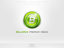 Belleros Premium Media Logo by basstar