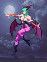 Morrigan by Jiggeh