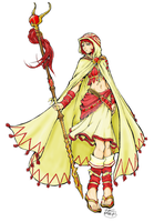 White Mage Gone Red by realityeater