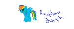 Rainbow Dash by XxCASHGIRLxX