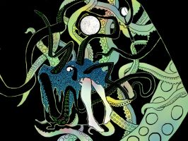 Octopus - Wallpaper by Negatic