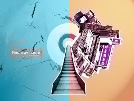 Find way home by kyue