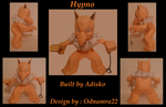 Hypno Paper Pokemon by Adisko