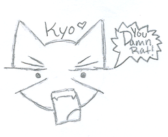 Angry Kyo is Angry by SnowblueXD