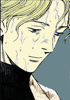 Johan Liebert Coloring by xzhouyux