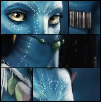 Neytiri close ups by Jerner