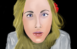 ASMR whisper portrait by darkervapid