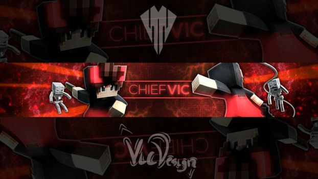 BANNER FOR ME by chiefvicdesign
