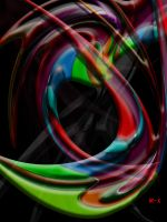 Abstract color blend by IRXDESIGN