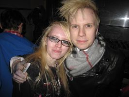 Patrick Stump and me by sashabrambleshadow