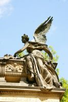 Angel in Vysehrad by Heurchon