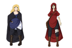 Idua and Mir Outfits by SpookyBjorn