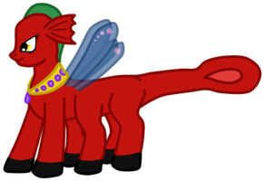 Dragonfly is little horse by SoulEevee99